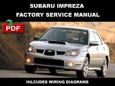 Repair manuals literature for subaru ebay subaru 2000 2001 2002 2003 2004 2005 2006 2007 impreza ultimate workshop manual fandeluxe Image collections