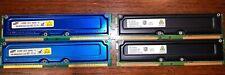 Samsung Rambus RIMM RDRAM 256Mb & Infineon  Rambus RIMM RDRAM 128Mb 2 each