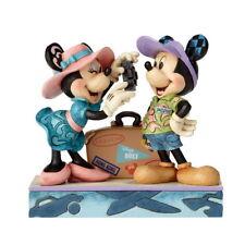 "JIM SHORE Figurine 4059731 Disney "" aventure Awaits (attend) "" voyage Mickey &"