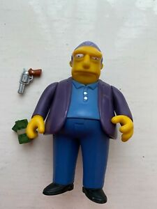 PLAYMATES INTERACTIVE THE SIMPSONS ALL STAR VOICES FAT TONY ACTION FIGURE WOS