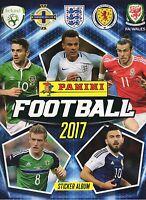 Panini Football 2017 Choose your individual / single Stickers - Buy 3 get 7 Free