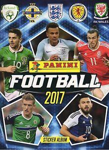 Panini Football 2017 Choose your individual / single Stickers