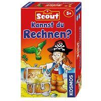 KOSMOS Kinderspiele Scout Kannst du Rechnen? Rechenspiel Spiel ab 5 J. 710514