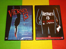 VIERNES 13 / VIERNES 13 2 / FRIDAY THE 13TH & 2 - 1980/81 DVD R2 Precintada
