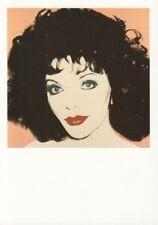 "JOAN COLLINS - Original High Quality 6"" x 4 National Portrait Gallery Postcard"