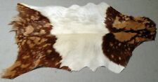 GOAT Western taxidermy Hide Rug Natural Pattern Fur Goat Hide Rode SA-1711