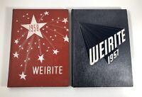 Weirton, West Virginia High School Yearbook - Weirite 1957 & 1958