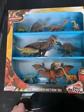Kid Galaxy Poseable Dinosaur Action Figures 10 Pack Create Epic Battles