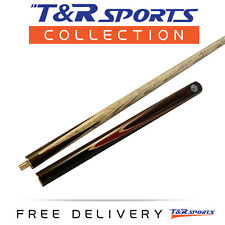 """Stock Clearance 57"""" 3/4 2-Piece OMIN Ash Snooker Cue for Pool Billiard 9mm Tip"""