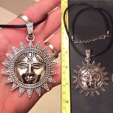 LARGE SUN NECKLACE + OTHER NECKLACE CHOICES (Coated For No Tarnishing)