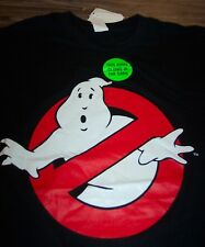 GLOW IN THE DARK GHOSTBUSTERS T-Shirt SMALL NEW w/ TAG