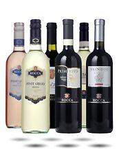 Italian Wine Case - Angelo Rocca Italian Wine Mixed Half. 6 Different Bottles