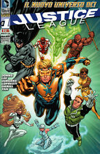 comics JUSTICE LEAGUE Nr. 1 Ultra Variant NUOVO - Edizioni DC Lion RW new 52