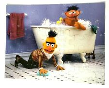 Vintage Sesame Street 35 pc Floor Puzzle Bert & Ernie 1985 Milton Bradley