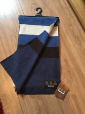 Striped 100% Lambswool Scarves for Men
