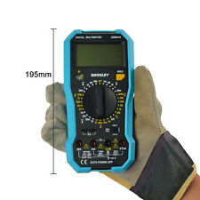 Handheld Digital Multimeter OHM AC/DC V/A Automotive Multitester Backlight
