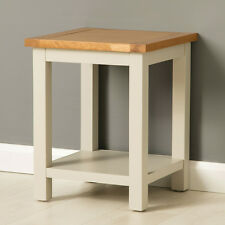 Mullion Painted Lamp Table / Oak Side Table / Small Painted Coffee Table