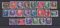 ITALY 1929 Imperiale Set Used  Sc.213-231 (Sa.242A/261)