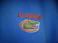 Vintage Retro University of FLORIDA Gators Mens Starter Polo, Circa 1990s XXL