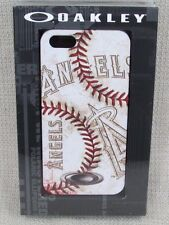 OAKLEY Los Angeles Angels MLB Baseball Stitch iPhone 5 Case NEW IN PACKAGE NIP