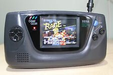 Sega Game Gear Console New LCD ,Capacitor Replacement and Lens Refurbished