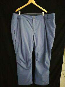 Columbia Men's Bugaboo Ski Pants Size 3X Blue Waterproof z19
