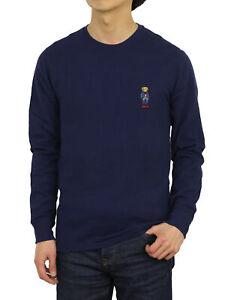 Polo Ralph Lauren Long Sleeve Crewneck Polo Bear Thermal Shirt - 3 colors -