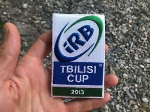 Original INTERNATIONAL RUGBY BOARD patch TBILISI CUP 2013