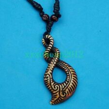 Maori Tribal Style Double Twist Necklace Cool Pendant