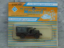 Roco / Herpa Minitanks 1/87 (NEW) WWII US Dodge M-37 3/4 T 4x4 Truck Lot #715