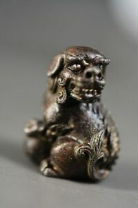Chinese copper Lion Statue Z9