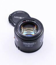 MINOLTA AF 50mm F/1.4 LENS FOR SONY A-MOUNT DLSR CAMERAS