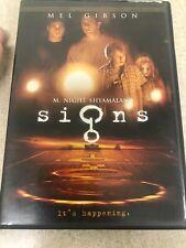 M Night Shyamalan's Signs DVD Mel Gibson Joaquin Phoenix