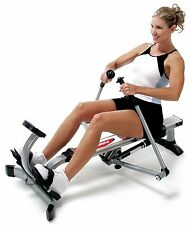 Rowing Machines For Home Use Portable Workout Strength Training Cardio Exercise