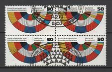 4x Europäisches Parlament Bund Deutschland BRD 1979 Mi-Nr. 1002, Ersttagsstempel