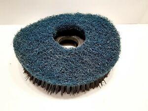Black 9 1/2 Inches Rotary Scrubbing Brush