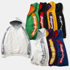 Herren Damen Supreme Hoodie Mode Sweater OutdoorSweatshirt Hoody Kapuzenpullover