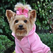 Doggie Design Dog Sport Hoodie - Carnation Pink ~ Extra Small
