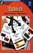 Spanish, Middle School/High School, Level 2 Paperback Rose Thomas