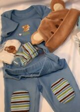 NWOT Gymboree Koala Set I HEART LOVE DADDY HUGS outfit with socks & hat 3-6 mo