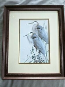 """""""Blue Odyssey"""", Art Lamay, Matted Framed Transfer Lithograph"""