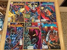 Knighthawk #1 - #6 by Neal Adams (1995, Acclaim Comics)
