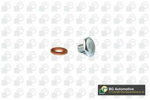 Engine Oil Sump Drain Plug Bung with Seal - fits Citroen Berlingo, C3, C4, DS3