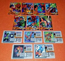 OVERPOWER Might Over Mind Mission & Event SET (12) DC Superman Wonder Woman