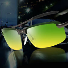 Day & Night Vision Driving Glasses Men's HD Polarized Sunglasses Outdoor Eyewear