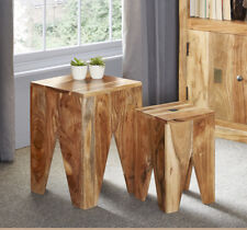 Nest of Two Tables Urban Slate Collection SL09