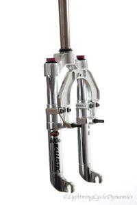 """New Ballistic 600AII suspension fork for 16x1-3/8 wheel.  1"""" threadless steerer"""