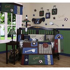 Geenny Classic Sports 13-piece Crib Bedding Set
