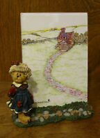 "Boyds Frame #27320 BAILEY...OFF TO SCHOOL,1st Ed NIB From Retail Store 6""x5.25"""