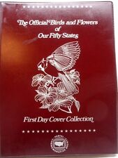 USPS The Official Birds And Flowers Of Our Fifty States, Post Marked Envelopes